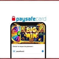 Casinos mobile qui acceptent PaysafeCard